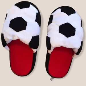 OLD NAVY soccer slippers soft and squishy 1/2